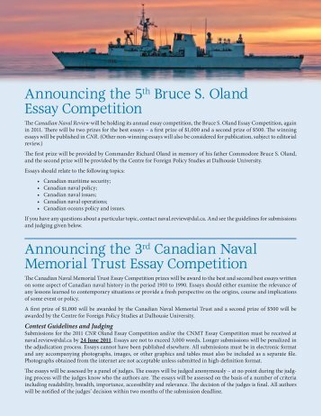 canadian essay writing competition We are now accepting entries for our annual young writers creative writing contest for ages 5-18 theme is open, 360 words or less and one entry per writer.