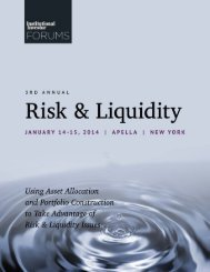 Using Asset Allocation and Portfolio Construction to Turn Risk ...