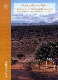 e-migrinter 2012 numéro 09 - Maison des Sciences de l'Homme et ...