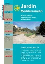 Le jardin Méditerranéen - Istres