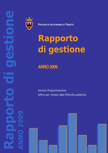 Il PSP per la XIV legislatura - Giunta - Provincia autonoma di Trento