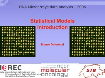 Statistical Models - Introduction