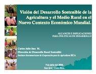 Desarrollo Sostenible Agricultura y Medio Rural - Territorios ...