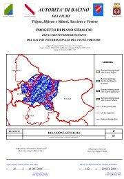 Fortore - Autorità di Bacino Interregionale - Regione Molise