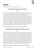 TRANSLATING RECURRENCES IN PINTER'S PLAYS - Page 5