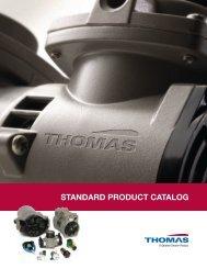 STANDArD prODuCT CATALOG - Comprevac Inc.