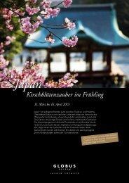 Japan Kirschblütenzauber im Frühling -  Globus Reisen