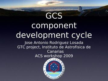 GTC primary mirror control system - 6th ACS Workshop at UTFSM ...