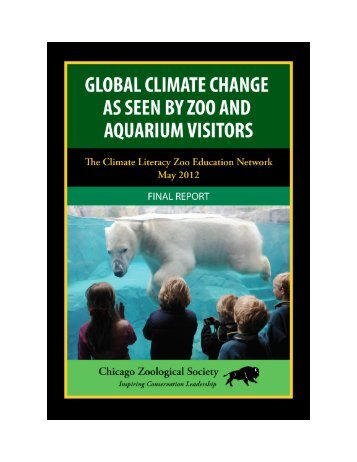 CLiZEN Survey Final Report - Climate Literacy Zoo Education Network