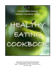CCCSIG Healthy Eating Cookbook