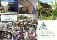 Pre-K Information - Trinity Grammar School