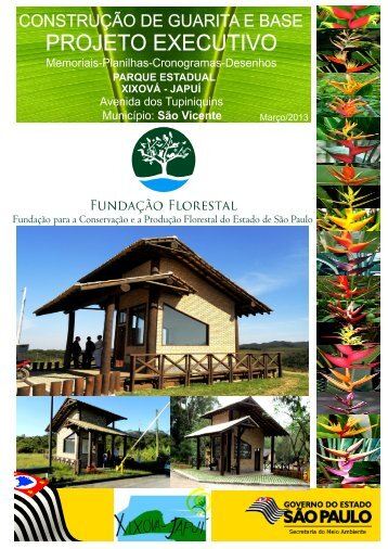 Especificações Técnicas (Guarita) - Fundação Florestal - Governo ...