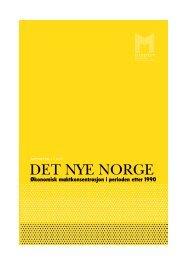 Det nye Norge: Økonomisk maktkonsentrasjon i ... - Manifest Analyse
