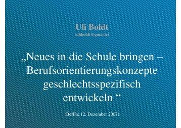 Ulrich Boldt