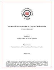 Stephen Cornell and Miriam Jorgensen - Native Nations Institute ...