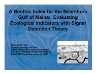 Evaluating Ecological Indicators with Signal Detection Theory - rargom
