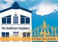 Annual Report 2000 - HealthCare Chaplaincy