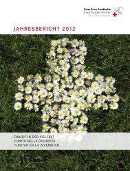 JahresberichT 2012 - Rotes Kreuz Graubünden