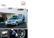 Corolla Accesorii - Toyota