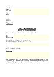 Umwidmungsantrag - Bad Ischl
