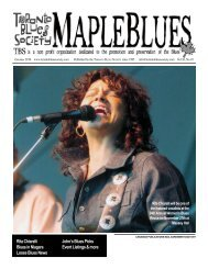 download issue - Toronto Blues Society