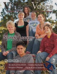 October 2009 - Trout Lake School