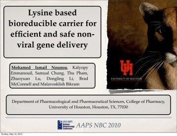 viral gene delivery