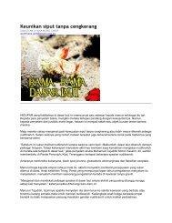 Keunikan siput tanpa cengkerang - Jabatan Taman Laut Malaysia