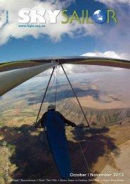 October | November 2012 - Hang Gliding Federation of Australia