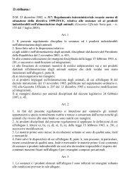 Decreto 23 dicembre 2002, n - La Tribuna