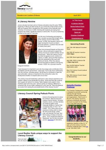 Readers are Leaders April 2011.pdf - Literacy Council of Buncombe ...