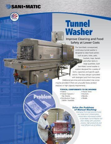 Tunnel Washer - Holland Applied Technologies