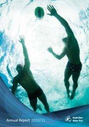 Annual Report 2010/11 - Australian Water Polo Inc