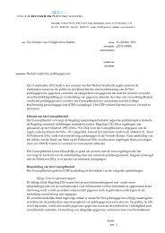 Besluit verplichte politiegegevens - College bescherming ...