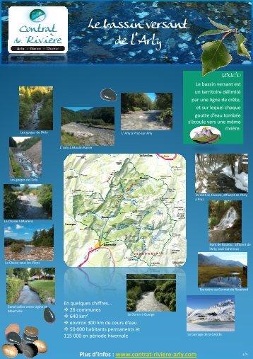 Présentation et actions - Contrat de rivière Arly.Doron.Chaise