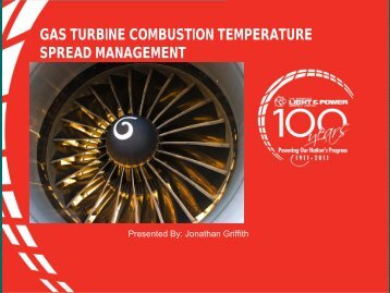 gas turbine combustion temperature spread management - Carilec
