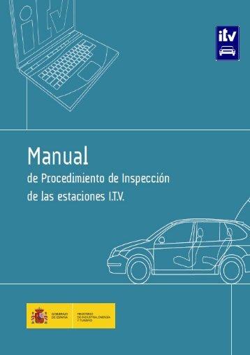 Manual ITV - Ministerio de Industria, Energía y Turismo