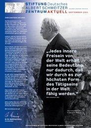 dasz asa 09 11 - Deutsches Albert-Schweitzer-Zentrum