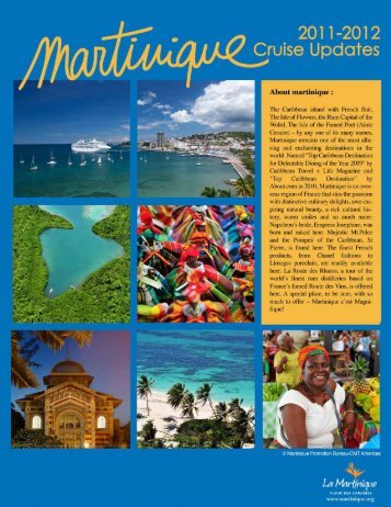 Download the PDF brochure - Martinique