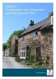 Conservation Area Assessments Erbistock - PDF format 4.4Mb