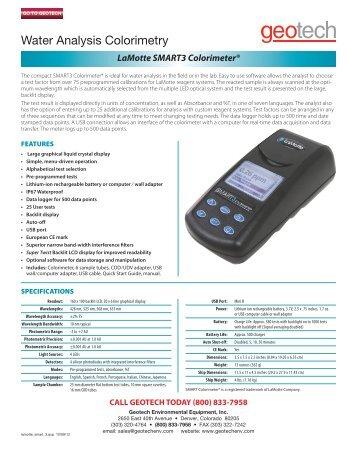 lamotte smart 2 colorimeter manual