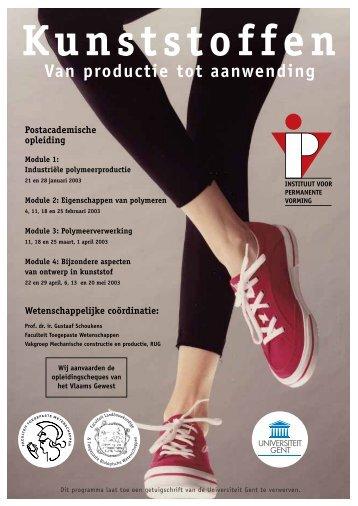 Kunststoffen - IVPV - Instituut voor Permanente Vorming
