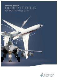 Rapport annuel 2010 - Dassault Aviation