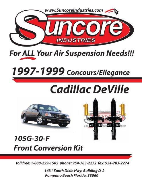 1999 Cadillac Deville Suspension