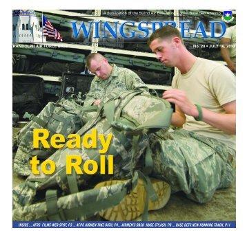 RANDOLPH AIR FORCE BASE No. 28 • JULY - San Antonio News