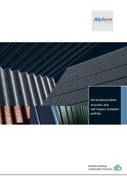 Perforated Aluminium Profiles - Aluform System GmbH & Co. KG