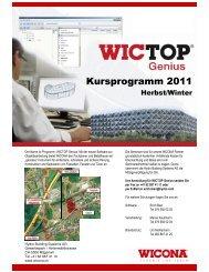 Kursprogramm 2011/2 - Wicona.ch