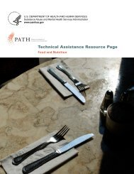 Technical Assistance Resource Page - PATH - Substance Abuse ...