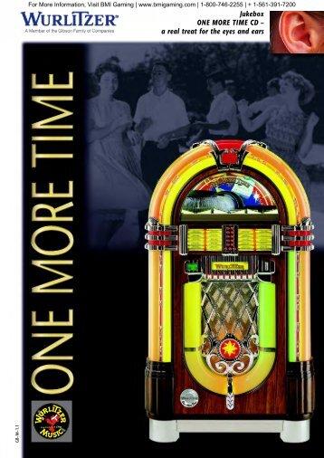 Wurlitzer OMT 1015 CD Flyer - BMI Gaming