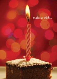 make a wish... - RDL Marketing Group